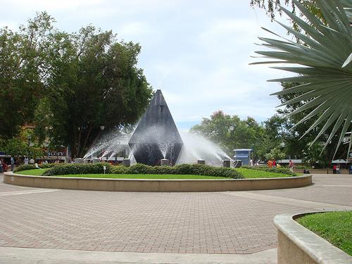 Parque Cervantes de dia
